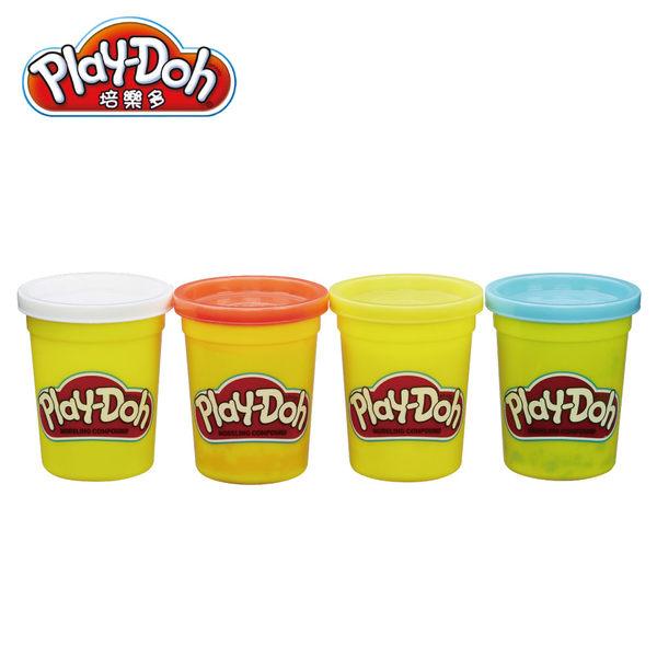 Play-Doh培樂多-黏土補充罐四色組-小恐龍