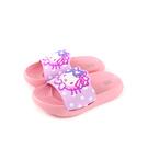 Hello Kitty 凱蒂貓 拖鞋 粉紫/粉紅 中童 童鞋 820351 no818 15~22cm
