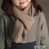 秋冬新品男女童舒適保暖防風針織毛線圍巾 海角七號