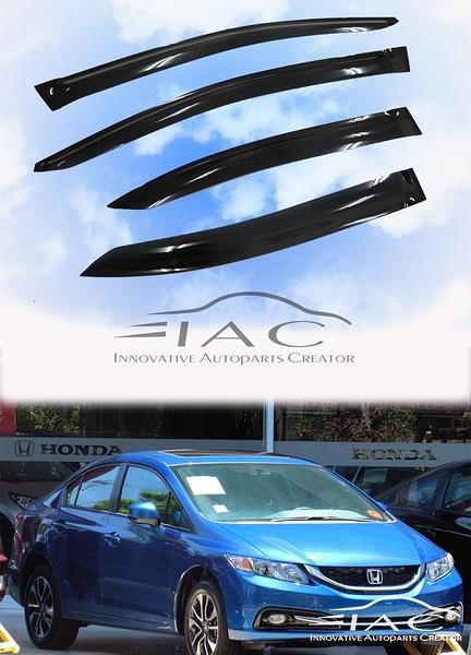 Honda Civic Sedan 11-16 台製晴雨窗