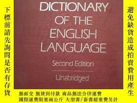 二手書博民逛書店The罕見Random House Dictionary of