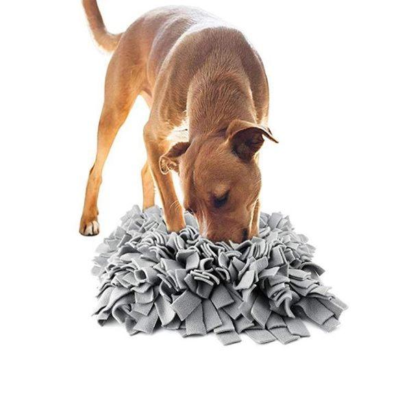 耐咬狗貓覓食玩具 寵物嗅聞墊子慢食益智訓練毯子【步行者戶外生活館】