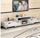 耐家電視櫃茶幾組合現代簡約迷你伸縮簡易電視機櫃小戶型客廳地櫃igo    韓小姐的衣櫥
