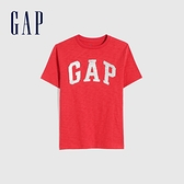 Gap男童 Logo翻轉亮片短袖T恤 682101-紅色