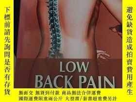 二手書博民逛書店LOW罕見BACK PAINY306923 不祥