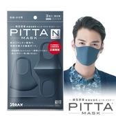 PITTA高密合可水洗口罩-海軍藍(3片/包)