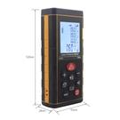 紅外線激光測距儀 高精度電子尺 手持式量房儀 室內測距儀 100米 【全館免運】