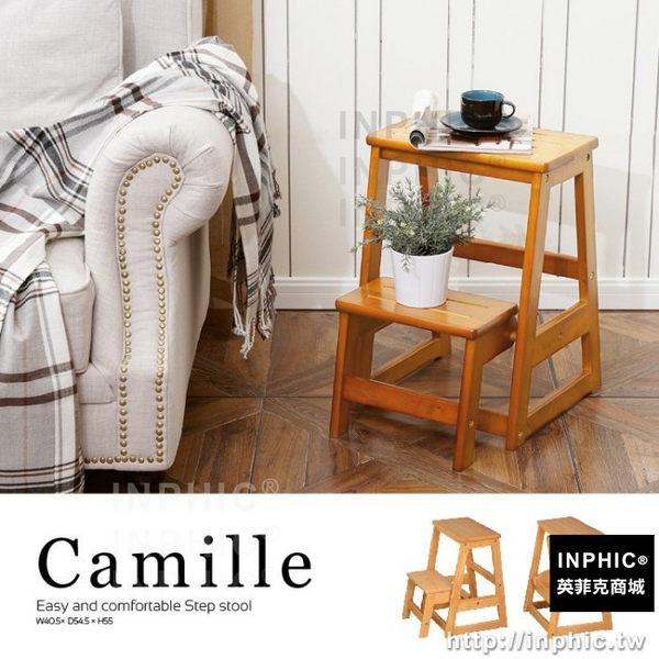 INPHIC-二層實木家用梯/樓梯椅 MIT台灣製 【Camille】_Y3Ge