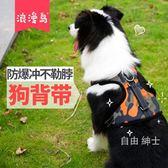 狗鍊狗狗牽引繩胸背帶胸帶中型大型犬金毛狗繩狗鍊子項圈寵物用品【免運】