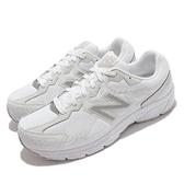New Balance 慢跑鞋 480 V5 NB 白 銀 男女鞋 紐巴倫 超寬楦頭 【ACS】 W480KW54E