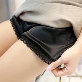 2條裝  夏新款安全褲防走光女薄款蕾絲外穿內搭打底褲寬鬆短褲 范思蓮恩