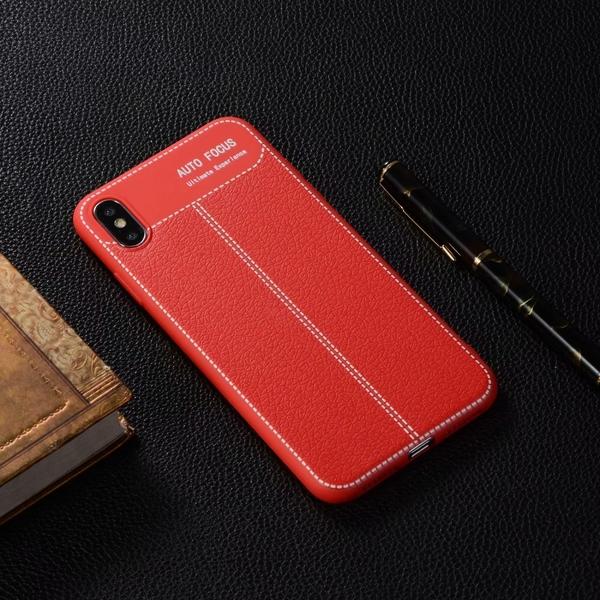 【SZ14】三代荔枝紋全包tpu防摔殼 iPhone Xs手機殼 iPhone XR iPhone XS Max iphone 8 plus iphone 7手機殼
