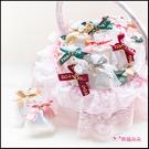 精緻珍珠紗網包裝 泰國冷製皂x50塊+大提籃x1個 婚禮小物 二次進場 活動贈品 手工皂 沐浴潔面皂