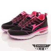 【ARNOR】輕量氣墊跑鞋款-WR72153-黑桃紅-女段-0