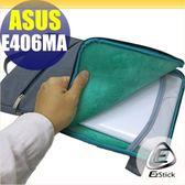 【Ezstick】ASUS E406 E406MA 14吋寬適用 多功能時尚電腦防震內膽包