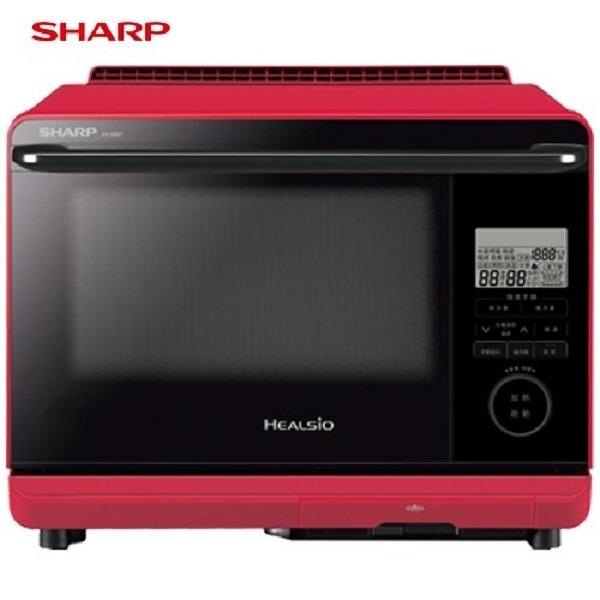 SHARP 夏普 26L HEALSIO下拉旋鈕式變頻微電腦水波爐 AX-AS6T ***免運費***