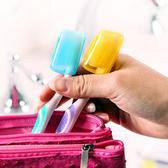 牙刷盒蓋 牙刷衛生頭套 洗漱 衛生 乾淨 戶外 旅行 抗菌 出差 便攜式牙刷盒蓋(1入) 【G021】慢思行