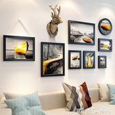 麋鹿客廳裝飾畫餐廳油畫北歐飯廳壁畫現代簡約沙發背景墻抽象掛畫 潔思米 IGO