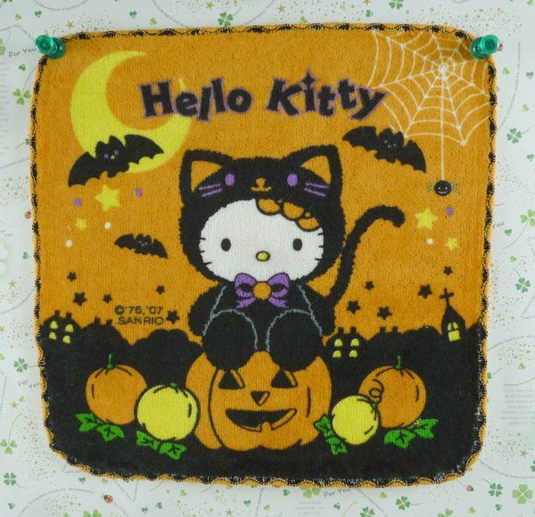 【震撼精品百貨】Hello Kitty 凱蒂貓~方巾-限量款-萬聖節