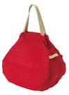日本SHUPPATO可折疊手提肩背兩用包(M)-紅-生活工場
