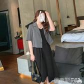 西裝外套西裝外套女夏季薄款職場休閒百搭短袖西服上衣 伊蒂斯