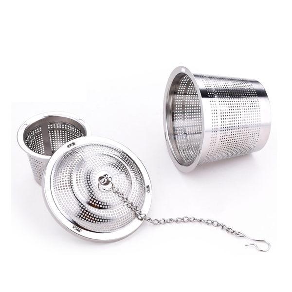 PUSH!廚房餐具用品304不銹鋼滷料煲湯茶葉過濾器調味滷包器大號D77