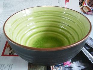 綠色冰裂 日大面碗