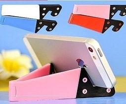 【妃航】iPhone iPad 手機 支撐架 簡易支架 影音支架 V型 三角立架 支架