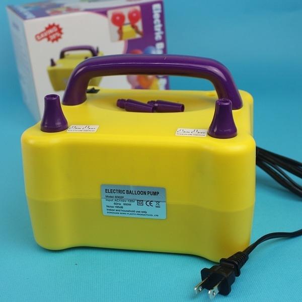 氣球打氣機 氣球充氣機 HS-001/一台入(促1999) 雙孔式氣球專用 桌上型電動充氣機 快速打氣機 AA-5076