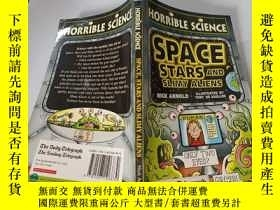二手書博民逛書店Space,stars罕見and slimy aliens:太空,星星和黏糊糊的外星人。Y200392
