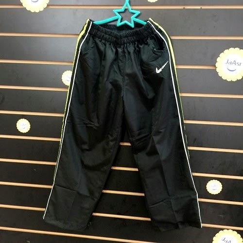 ☆棒棒糖童裝☆(1258)秋冬男大童鬆緊腰淺綠色滾邊雙層防風褲 120-170  台灣製造 補貨到