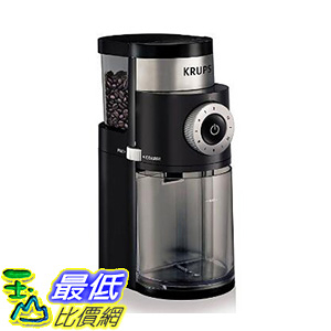 [106 美國直購] KRUPS GX5000 Professional Electric Coffee Burr Grinder with Grind Size and Cup Selection 咖啡磨豆器