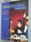 【書寶二手書T6/語言學習_YJO】Best Practice _MASCULL, BILL