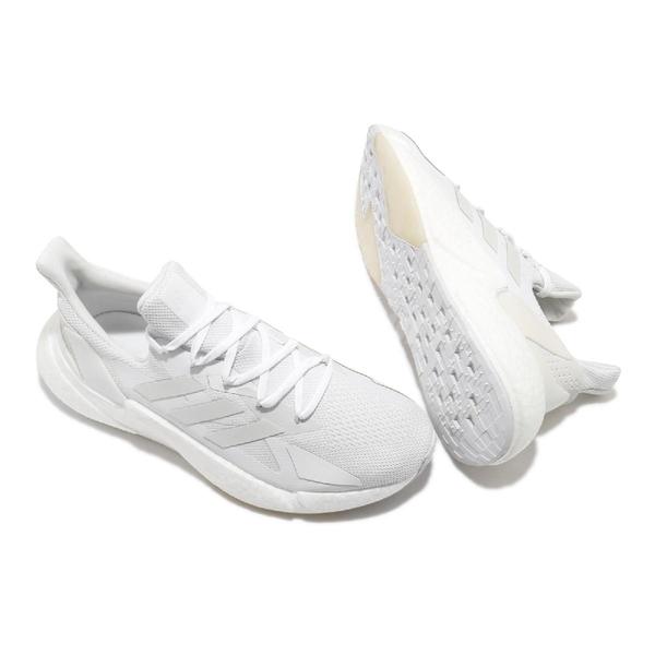 adidas 慢跑鞋 X9000L4 白 全白 男鞋 女鞋 科技風跑鞋 編織鞋面 Boost 舒適緩震 運動鞋【ACS】 FW8387