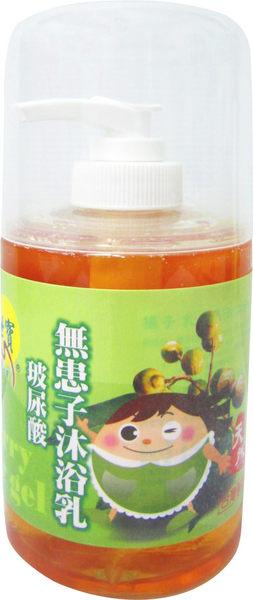 綺緣-無患子玻尿酸沐浴乳300g