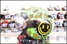 ZEUS 瑞獅安全帽,MOMO 飛行帽,210C,DD67/黑~林森