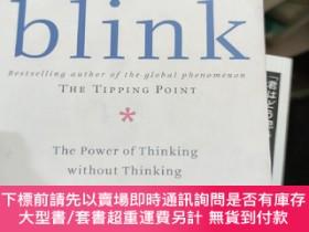 二手書博民逛書店BLINK:罕見THE POWER OF THINKING WITHOUT THIY246860 BLINK: