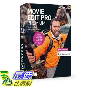 [8美國直購] 暢銷軟體 MAGIX Movie Edit Pro 2019 Premium - Your Films, Created Your Way
