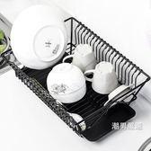 瀝水架廚房碗筷餐具瀝水架水果蔬菜收納籃盤碗碟置物架子晾碗滴水架xw
