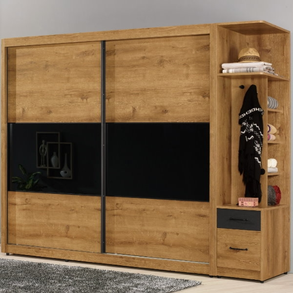 衣櫃 衣櫥 MK-515-12 費利斯8尺衣櫥 【大眾家居舘】