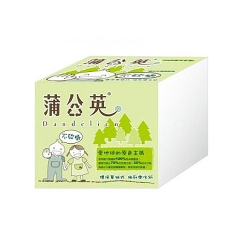 【春風】蒲公英 環保單抽式衛生紙(250抽x48包)