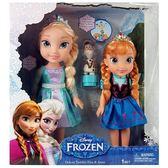 Jakks Pacific 迪士尼 冰雪奇緣豪華娃娃2入組 艾莎 安娜 含雪寶  TOYeGO 玩具e哥
