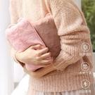 熱水袋充電暖寶寶注水暖水袋可愛情侶毛絨暖...