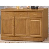 櫥櫃 餐櫃 HE-383-4 愛其華4尺碗櫥櫃【大眾家居舘】