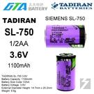 【久大電池】 TADIRAN SL-750 西門子 SIEMENS SL750 3.6V 【工控電池】TA8