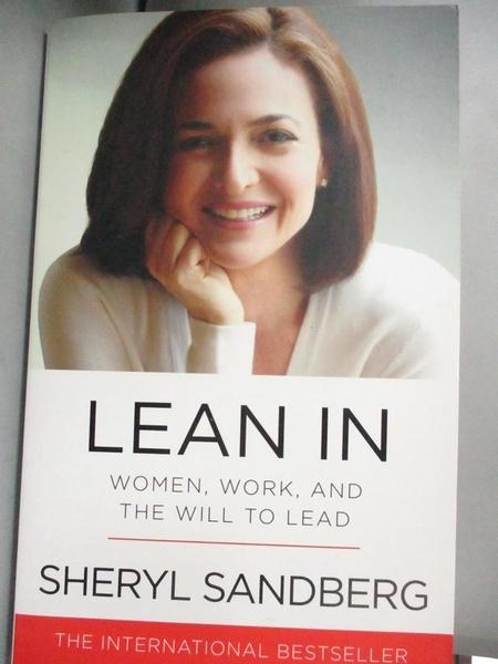 【書寶二手書T4/傳記_ONY】Lean In_Sheryl Sandberg