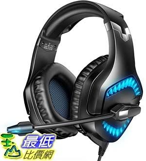 [9美國直購] RUNMUS 遊戲耳機 K1BPRO Gaming Headset Xbox One Headset with 7.1 Surround Sound, PS4 Headset