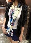 時尚百搭裝飾長款領巾FA05551『時尚玩家』