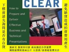 二手書博民逛書店Loud罕見And Clear: How To Prepare And Deliver Effective Bus