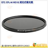STC 減光式偏光鏡 CPL-M ND16 口徑72mm 減光4級低色偏 環型偏光鏡 一年保固